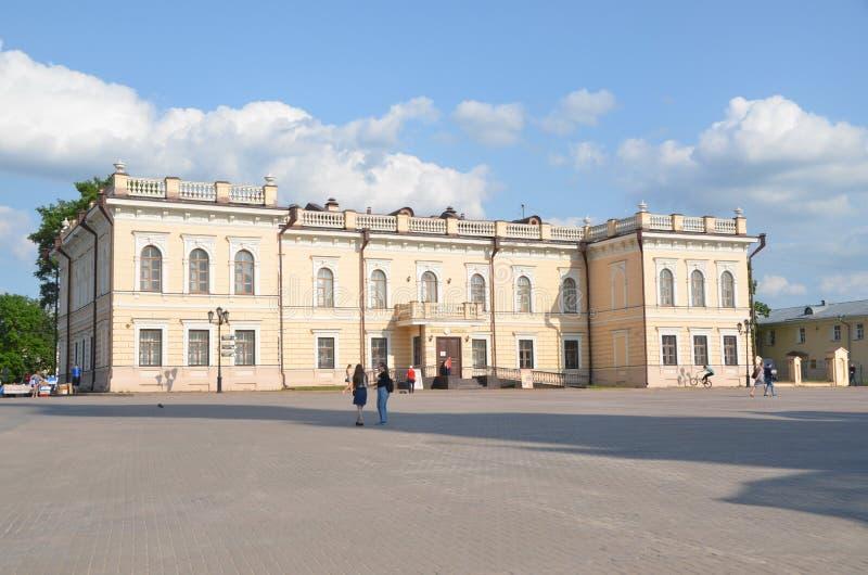 Il museo di pizzo in Vologda fotografia stock libera da diritti
