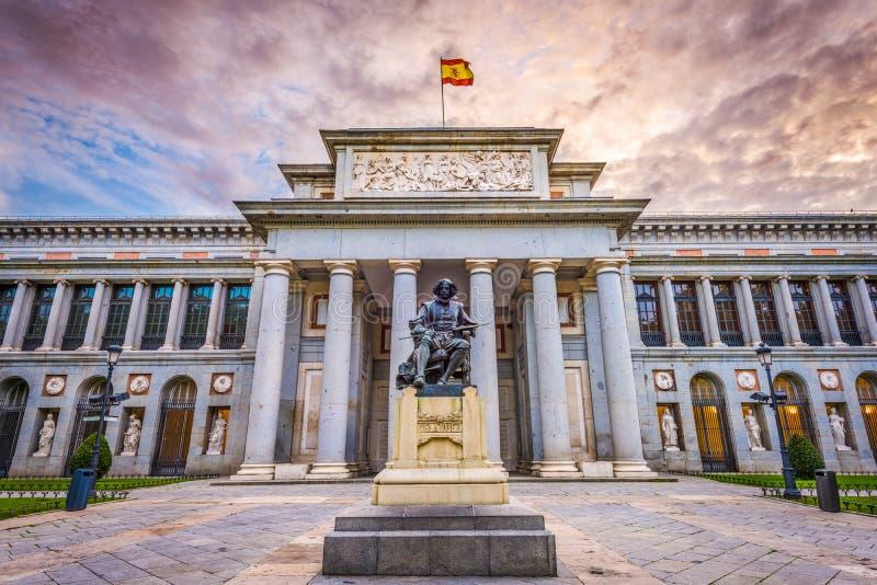 Il museo di Prado immagini stock