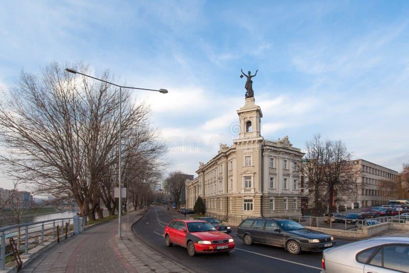 Il museo di tecnologia e di energetica a Vilnius fotografie stock libere da diritti