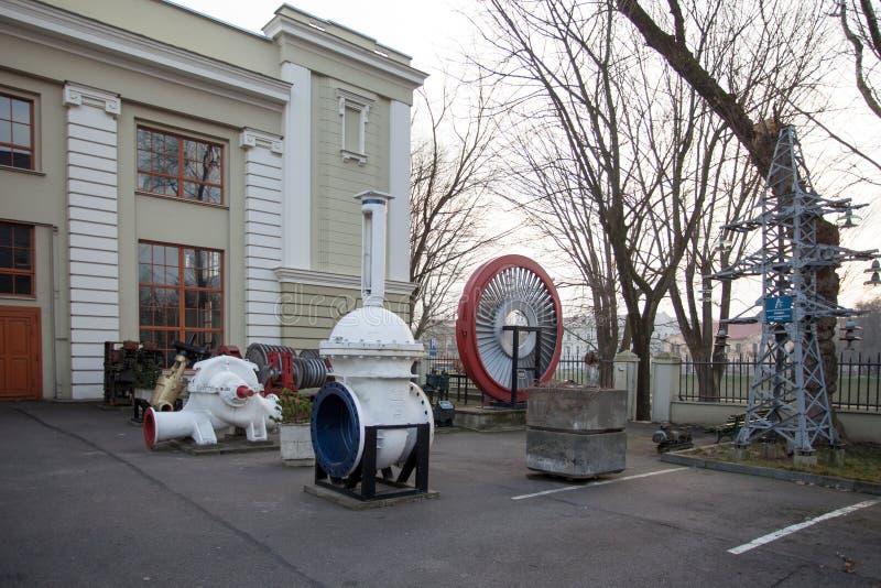Il museo di tecnologia e di energetica a Vilnius immagini stock libere da diritti