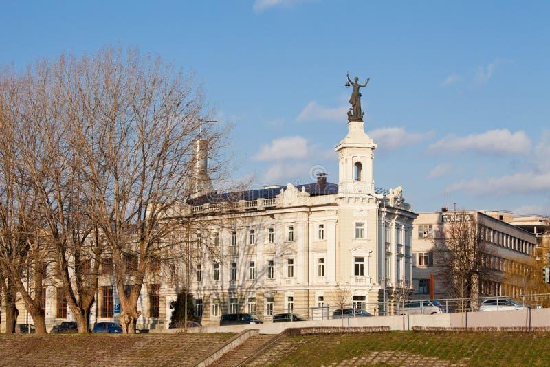 Il museo di tecnologia e di energetica a Vilnius fotografia stock libera da diritti