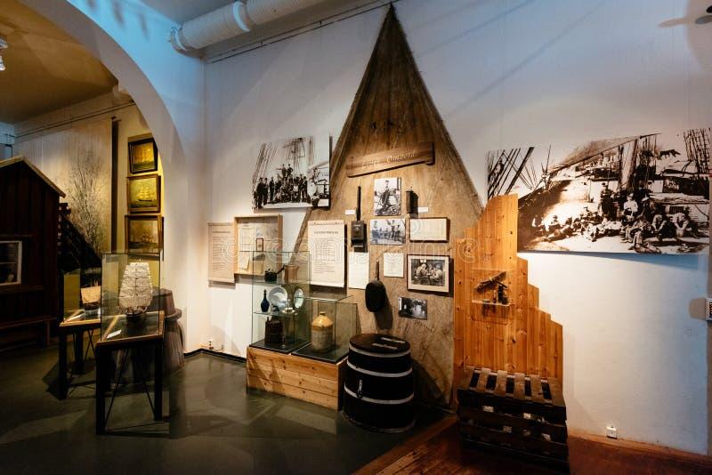 Il museo e l'acquario marittimi a Gothenburg, immagine stock libera da diritti