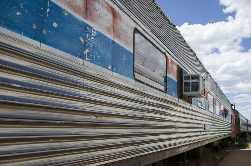 Il museo ferroviario del pueblo immagini stock