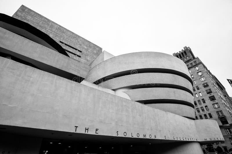 Il museo Guggenheim in New York, U.S.A. fotografia stock