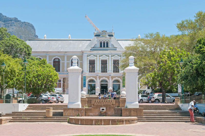Il museo sudafricano fotografia stock