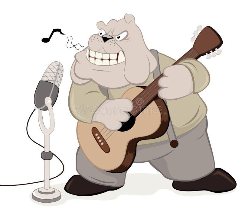 Il musicista royalty illustrazione gratis
