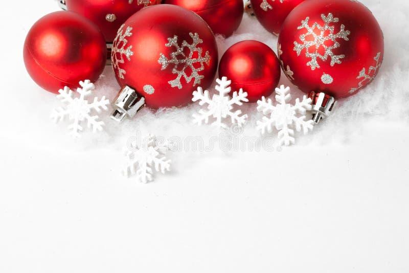 Il Natale confina con l'ornamento fotografia stock libera da diritti
