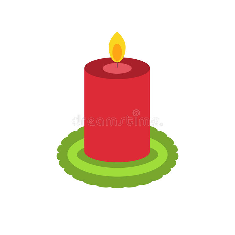 Il Natale esamina in controluce per la decorazione illustrazione di stock