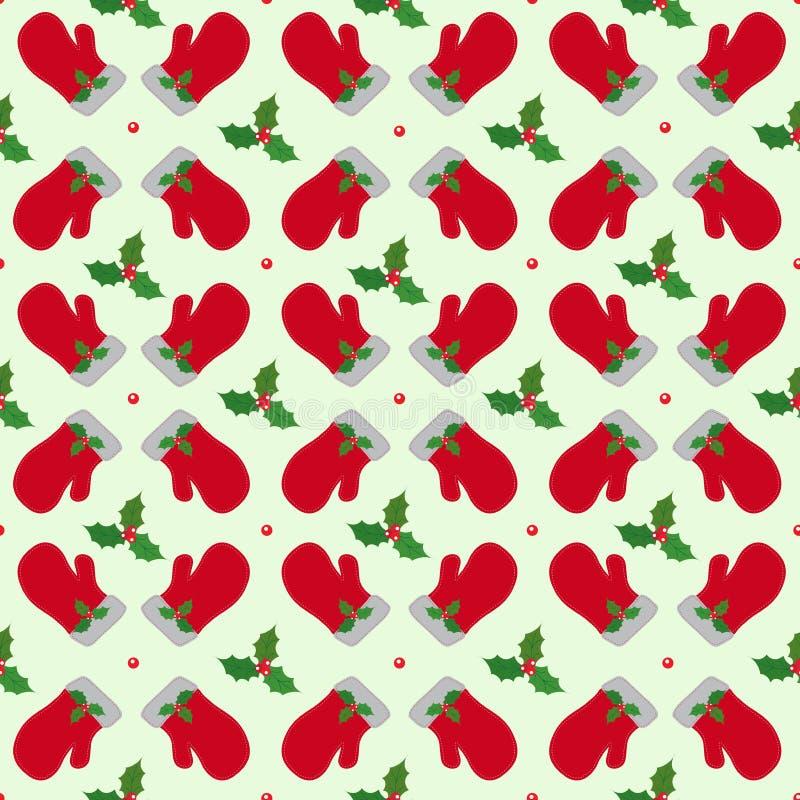 Il Natale vector il modello senza cuciture Ornamento luminoso 07 di inverno royalty illustrazione gratis