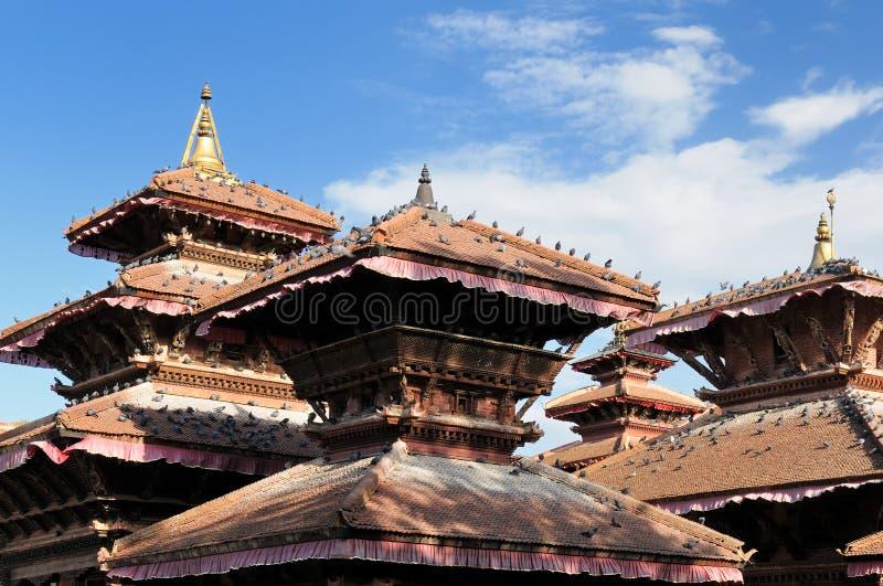 Il Nepal - Durbar Sqaure a Kathmandu fotografia stock