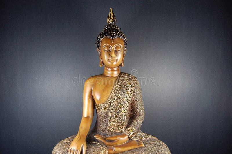 Il nero 3 di Buddha immagine stock libera da diritti