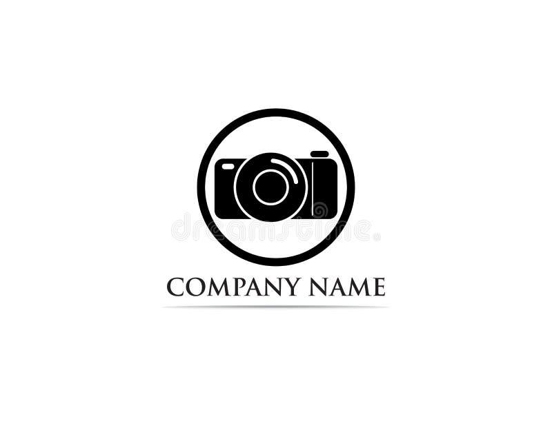Il nero dell'illustratore di Logo Vector di fotografia royalty illustrazione gratis