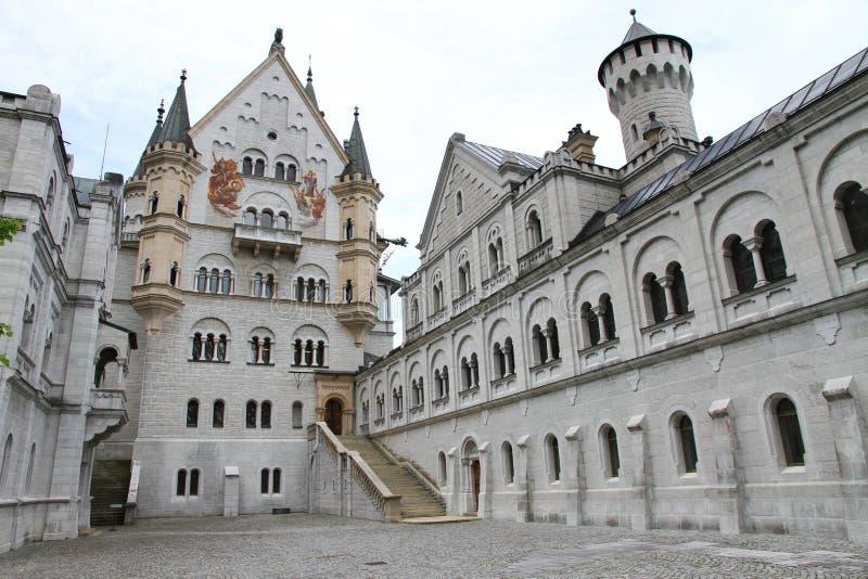 Il Neuschwanstein fotografie stock libere da diritti
