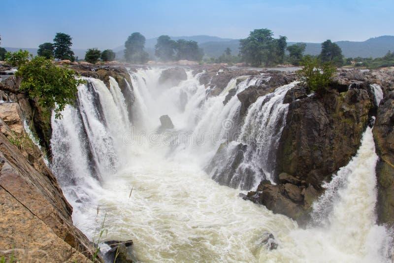 Il Niagara dell'India del sud immagine stock
