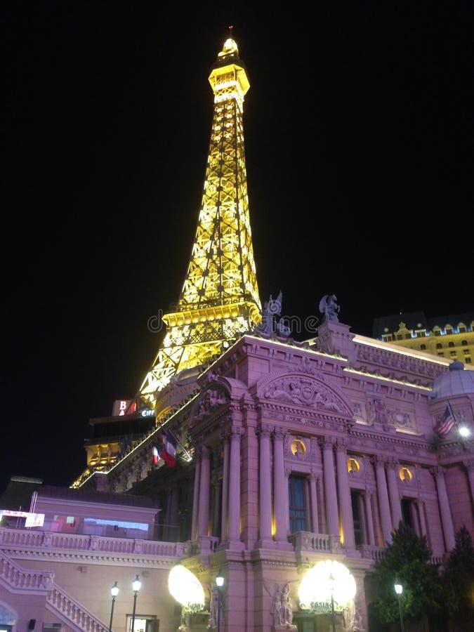 Il nigth di Vegas fotografia stock