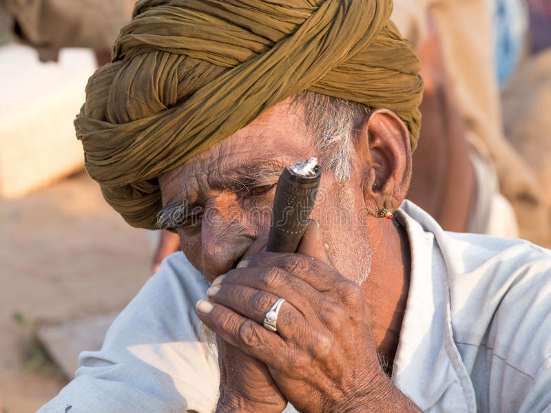 Download Il Nomade Indiano Ha Assistito Al Cammello Annuale Mela Di Pushkar Fotografia Editoriale - Immagine di coltura, festival: 56883637