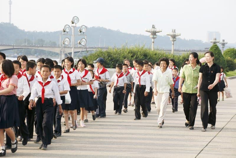 Il Nord Corea 2011 fotografia stock libera da diritti