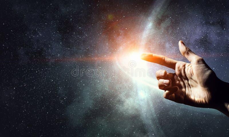 Il nostro universo unico fotografia stock