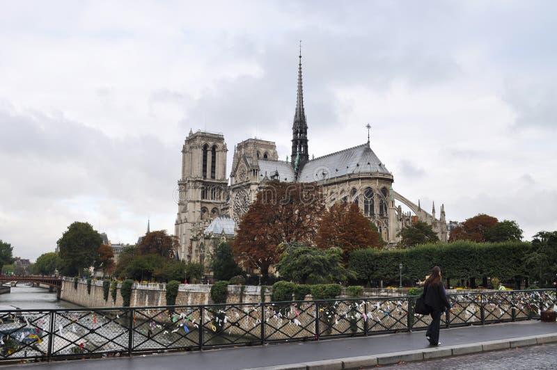 Il Notre Dame fotografie stock