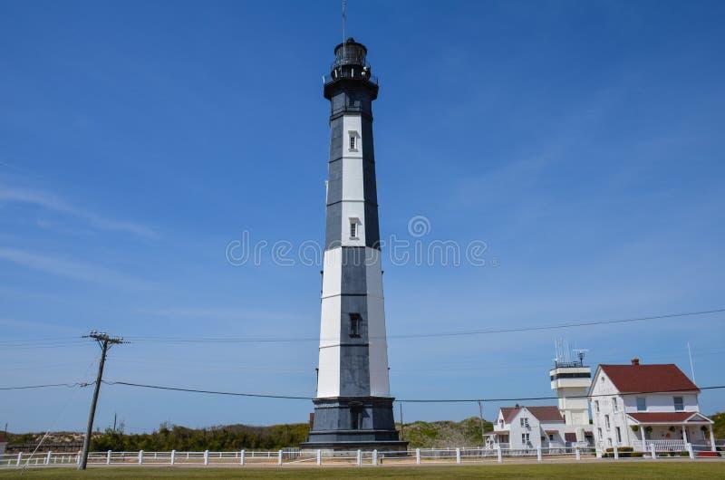 Il nuovo capo Henry Lighthouse in Virginia Beach, la Virginia un chiaro giorno soleggiato immagine stock