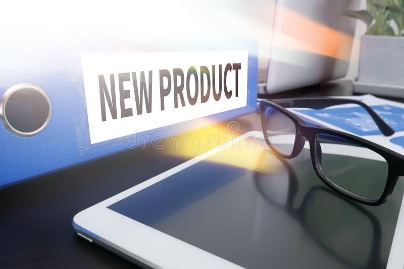 Il NUOVO PRODOTTO pensa l'introduzione sul mercato del lancio dell'innovazione fotografia stock libera da diritti