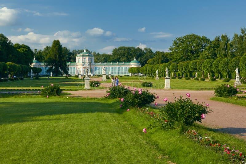 Il Orangerie nella proprietà di Kuskovo fotografia stock