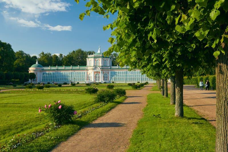 Il Orangerie nella proprietà di Kuskovo immagine stock