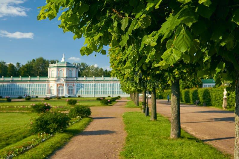 Il Orangerie nella proprietà di Kuskovo fotografia stock libera da diritti