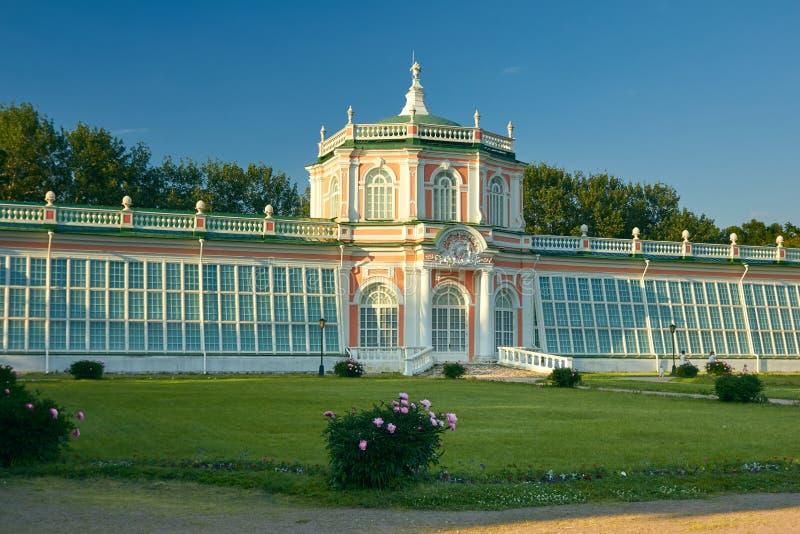 Il Orangerie nella proprietà di Kuskovo immagine stock libera da diritti