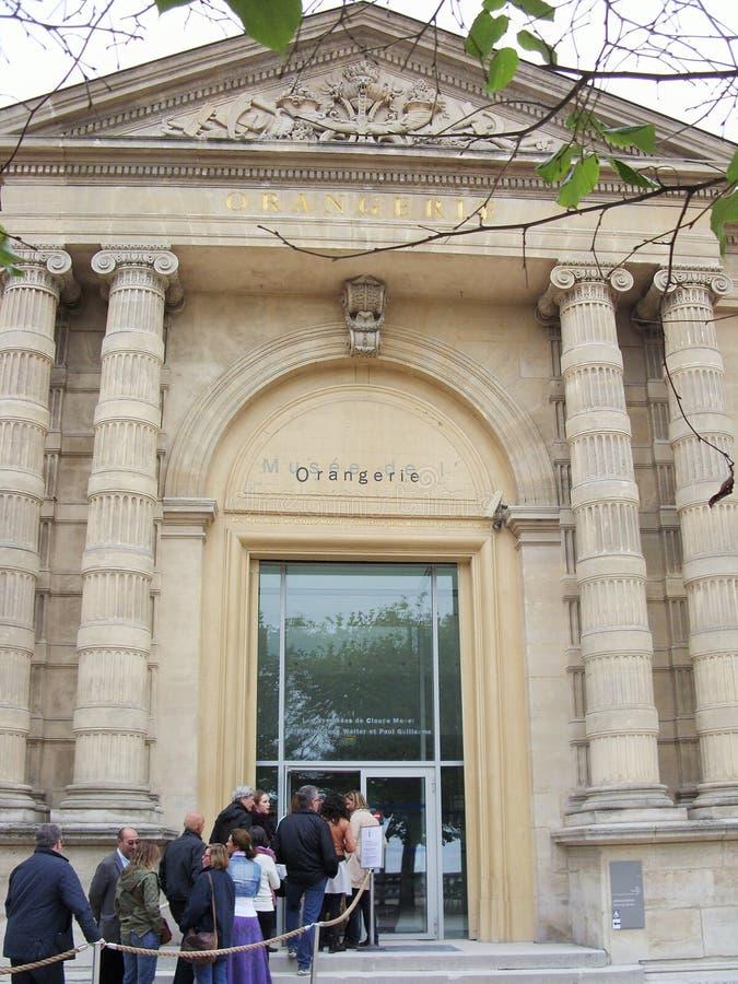 Il Orangerie a Parigi fotografia stock