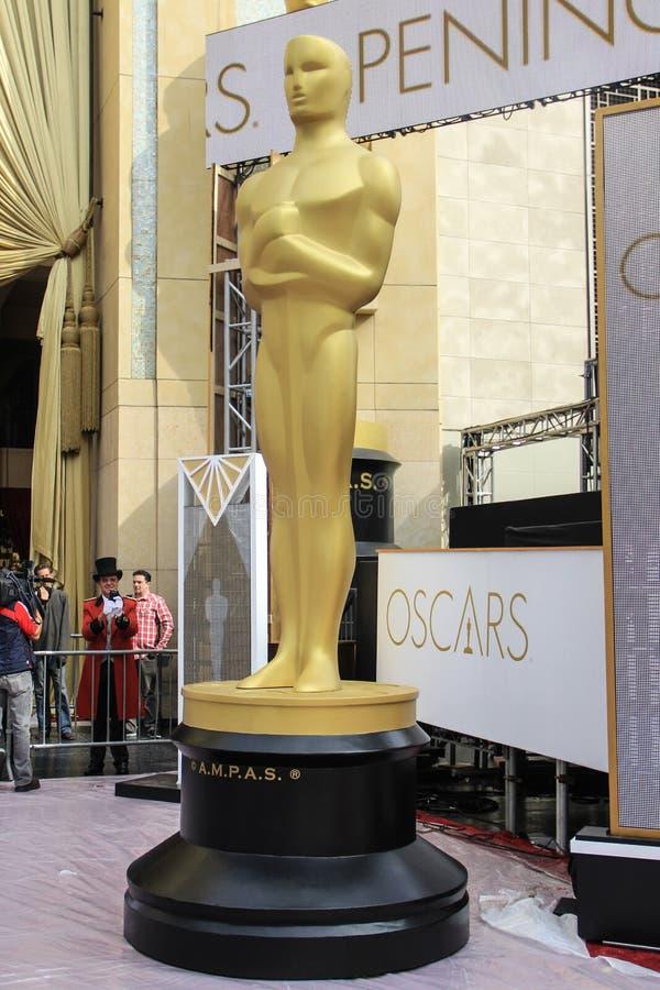 Il Oscars fotografie stock libere da diritti