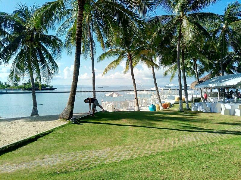 Il Pacifico ricorre Cebu immagini stock