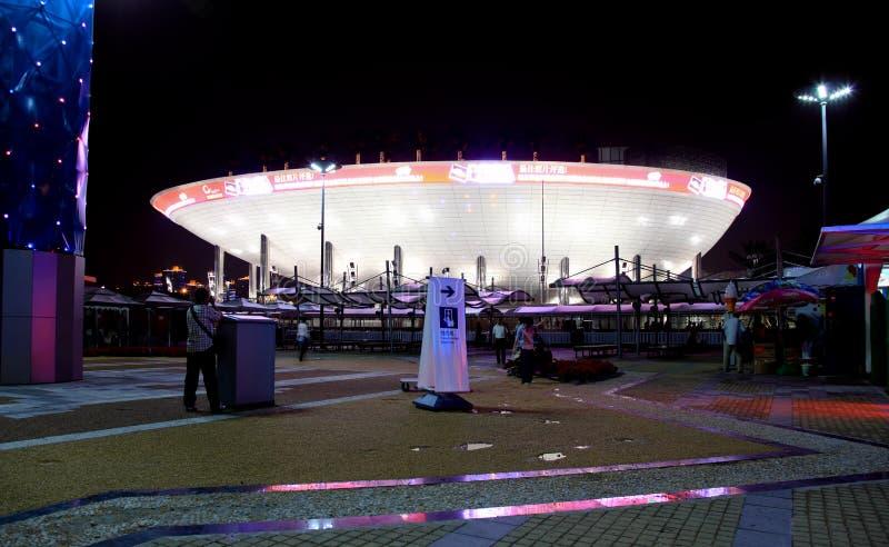 Il padiglione saudito all'Expo del mondo a Schang-Hai immagine stock libera da diritti