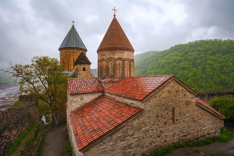 Il paesaggio della fortezza con la chiesa immagine stock libera da diritti