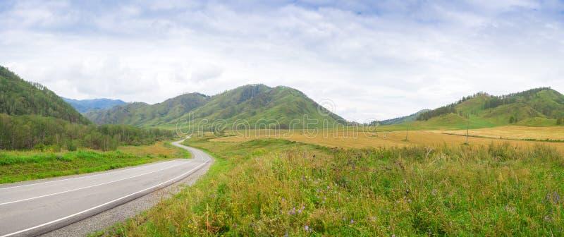 Il paesaggio delle montagne di Altai fotografia stock