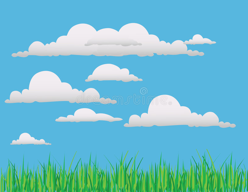 Il paesaggio di vettore illustrazione vettoriale