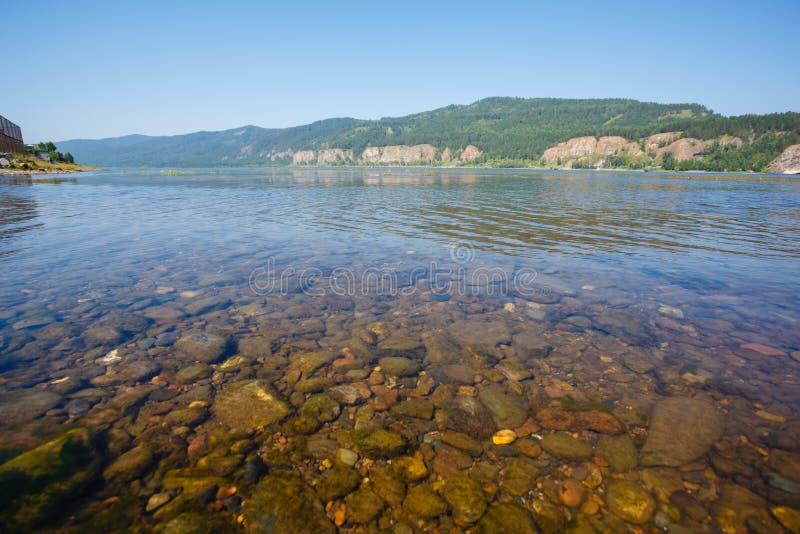 Il paesaggio siberiano sul fiume enisej immagine stock immagine di ambiente turismo 49735819 - Il giardino sul fiume ...