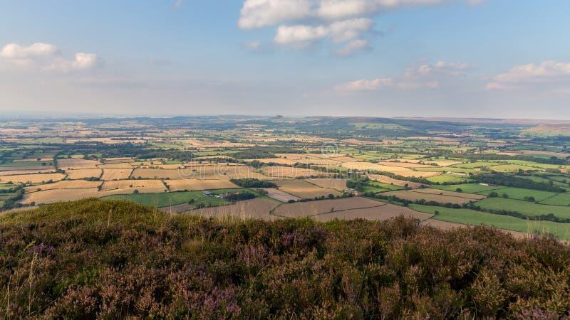 Il paesaggio a York del nord attracca, il Regno Unito fotografia stock