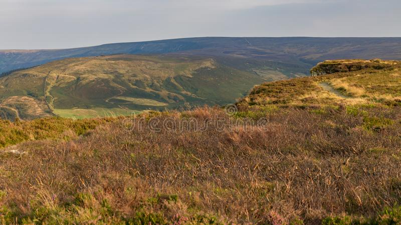 Il paesaggio a York del nord attracca, il Regno Unito fotografia stock libera da diritti