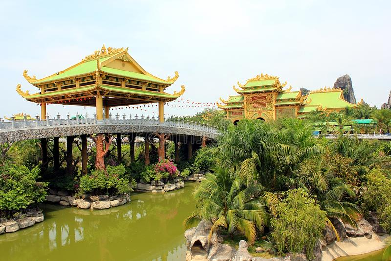 Il paese delle meraviglie del Dai Nam, Vietnam immagini stock