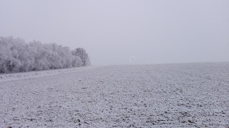 Il paese delle meraviglie 18 di inverno immagine stock