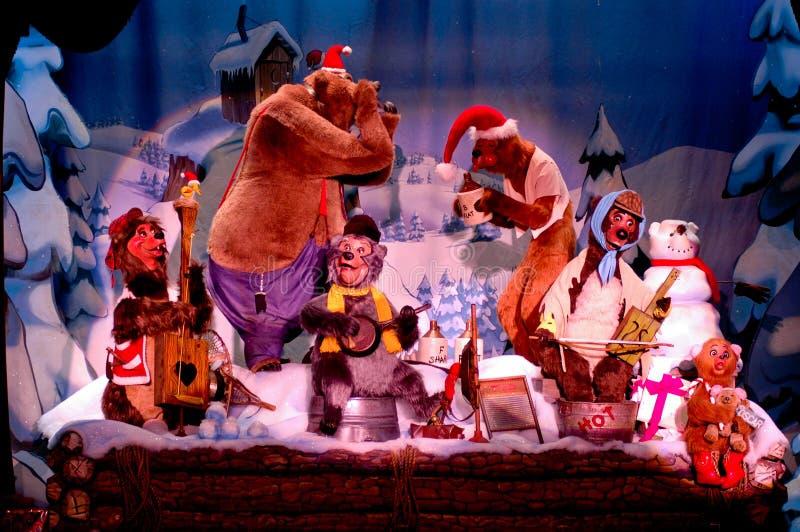 Il paese sopporta l'esposizione di festa, Disneyworld immagini stock
