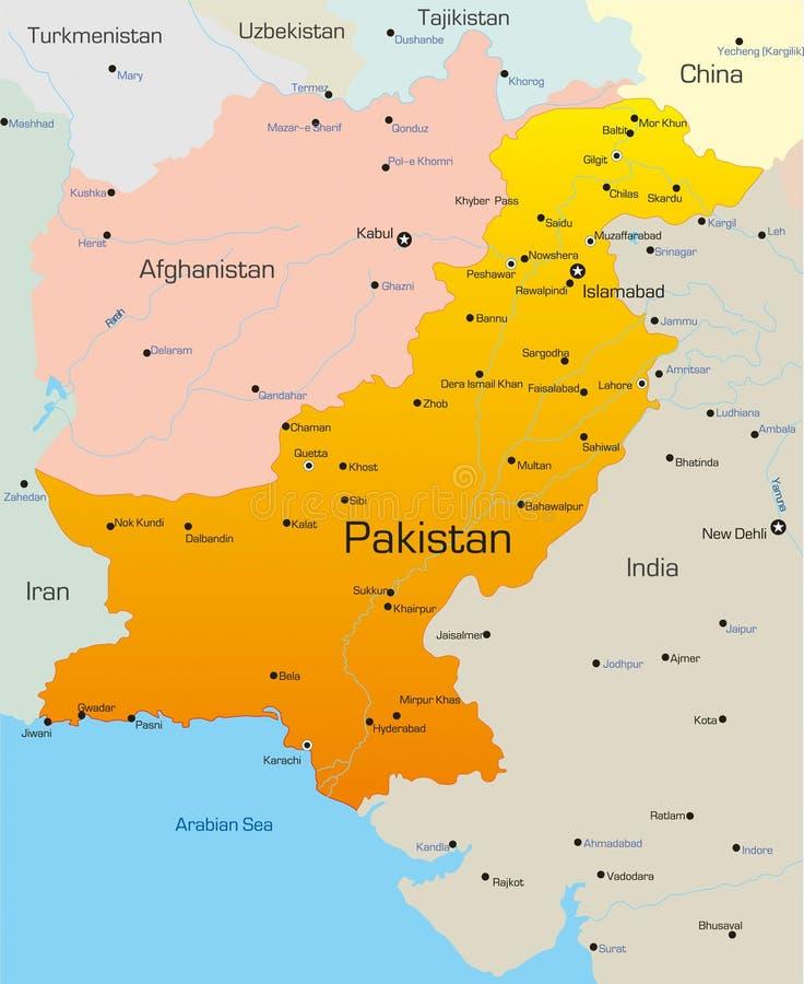 Il Pakistan royalty illustrazione gratis