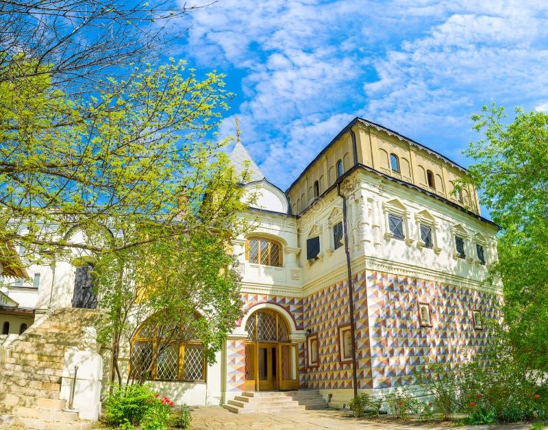 Il palazzo del boiardo di Romanov immagini stock