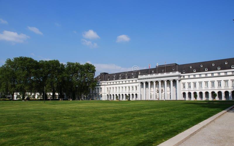 Il palazzo dell'elettore a Coblenza, Germania fotografie stock