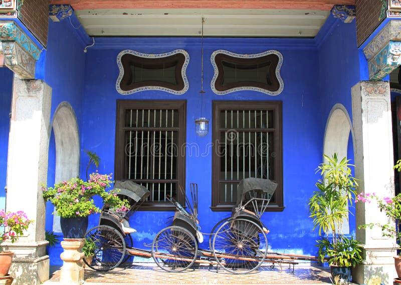 Il palazzo di Cheong Fatt Tze, Georgetown, Penang fotografia stock