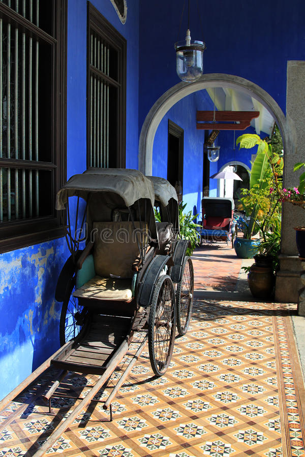 Il palazzo di Cheong Fatt Tze, Georgetown, Penang immagine stock