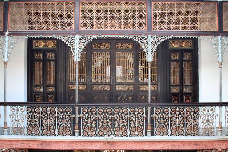 Il palazzo di Cheong Fatt Tze, Georgetown, Penang fotografia stock libera da diritti