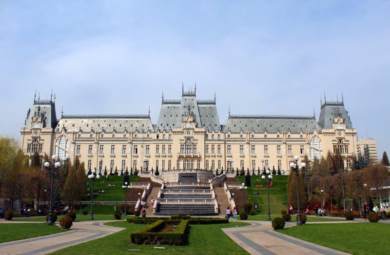 Il palazzo di cultura, Iasi, Romania fotografie stock libere da diritti