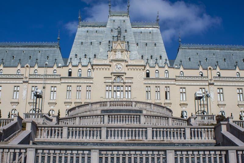 Il palazzo di cultura, Iasi, Romania fotografia stock